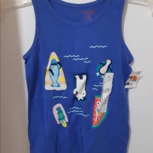 Little Girls sleeveless tank tops new with tags